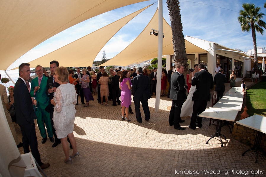 Irene & Paul's Wedding at Fortaleza da Luz in Praia da Luz, Algarve, Portugal
