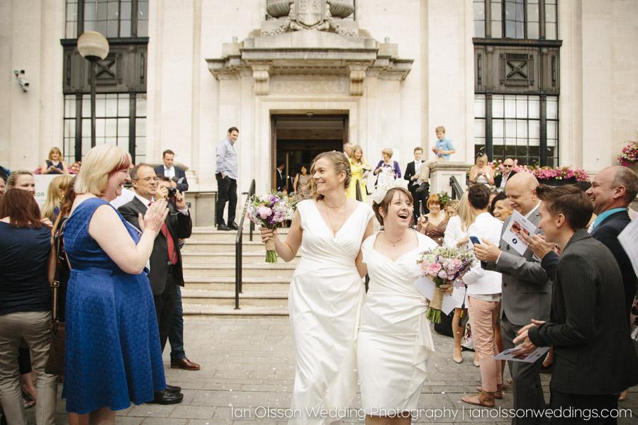 Fi & Ros's Wedding at Islington Town Hall London