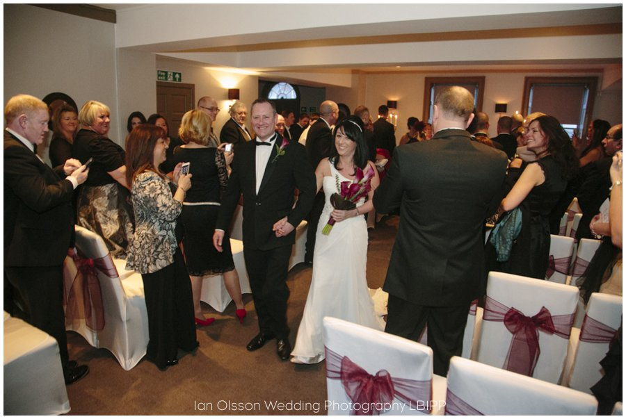 Winter wedding at the Ship Hotel in Chichester