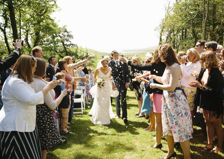 Smedmore House Outdoor Wedding by the Sea, Dorset | Claire & Ed