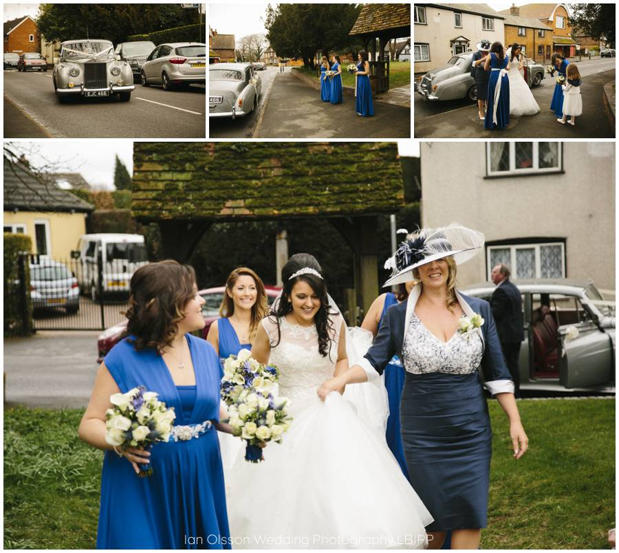 St Mary's Church Clifton-upon-Dunsmore Warwickshire Wedding 9