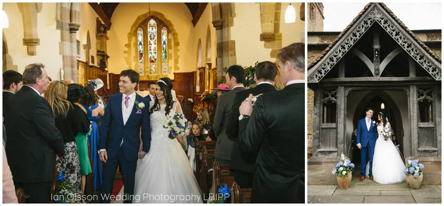 St Mary's Church Clifton-upon-Dunsmore Warwickshire Wedding 14
