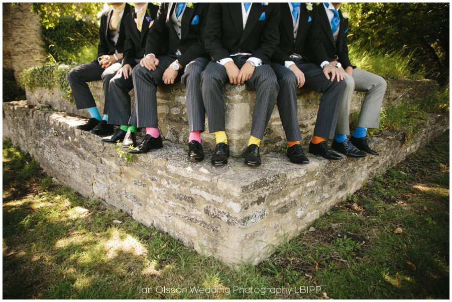 Emily and Ed's wedding at St Nicolas Church in Islip Oxford 6