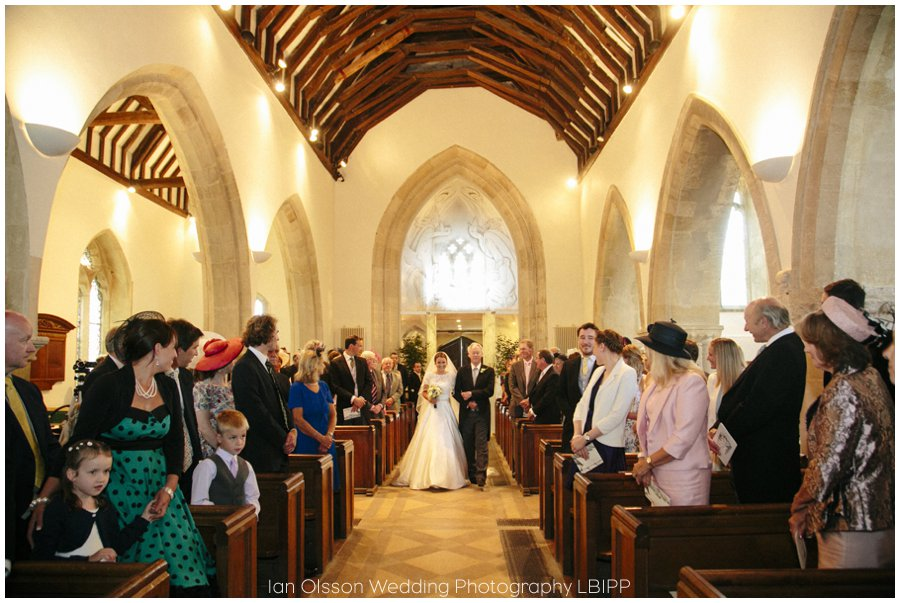 Emily and Ed's wedding at St Nicolas Church in Islip Oxford 10