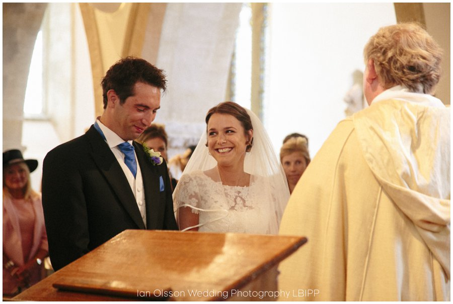 Emily and Ed's wedding at St Nicolas Church in Islip Oxford 12
