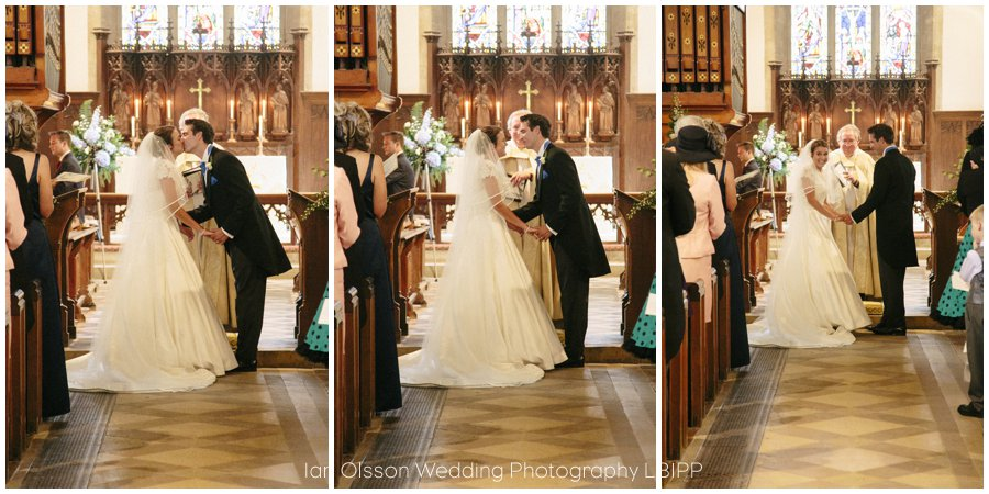 Emily and Ed's wedding at St Nicolas Church in Islip Oxford 13