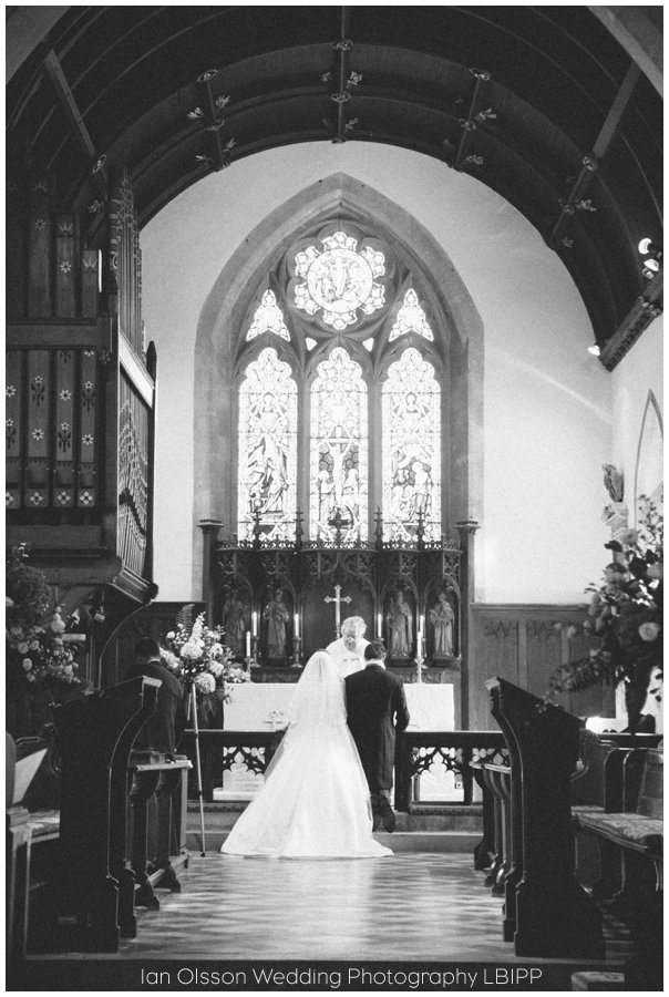 Emily and Ed's wedding at St Nicolas Church in Islip Oxford 14