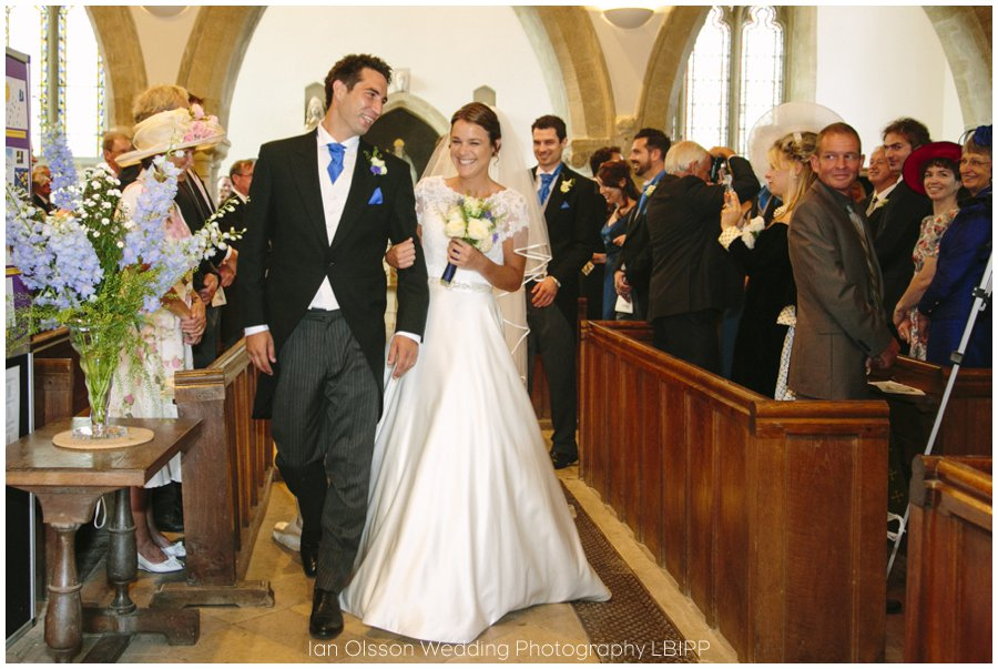 Emily and Ed's wedding at St Nicolas Church in Islip Oxford 15