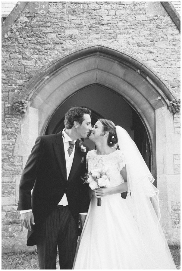 Emily and Ed's wedding at St Nicolas Church in Islip Oxford 16