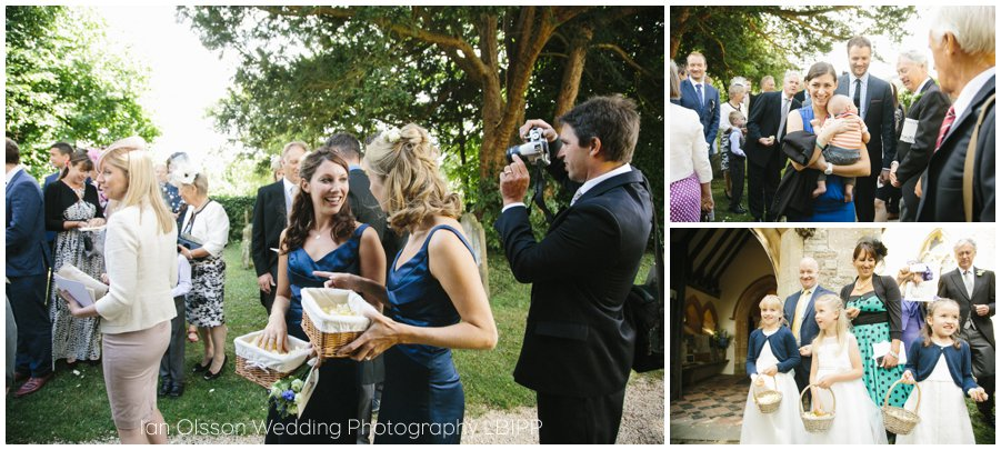 Emily and Ed's wedding at St Nicolas Church in Islip Oxford 17