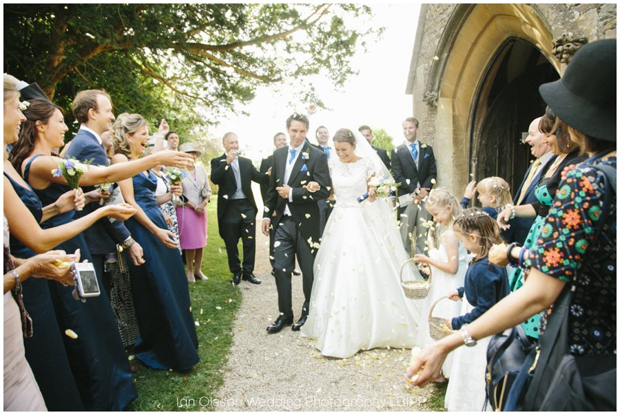 Emily and Ed's wedding at St Nicolas Church in Islip Oxford 18