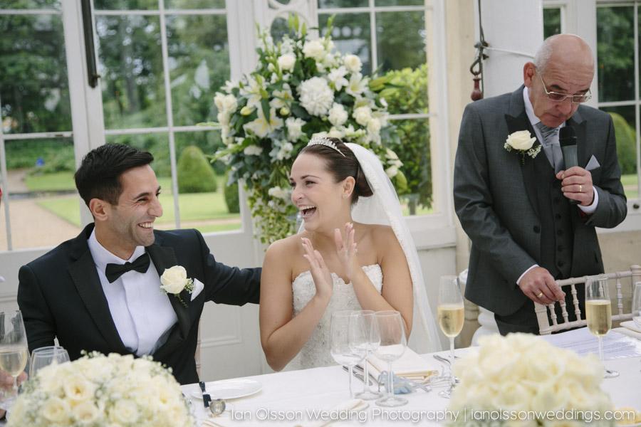 Faris and Rachael's wedding at Syon Park