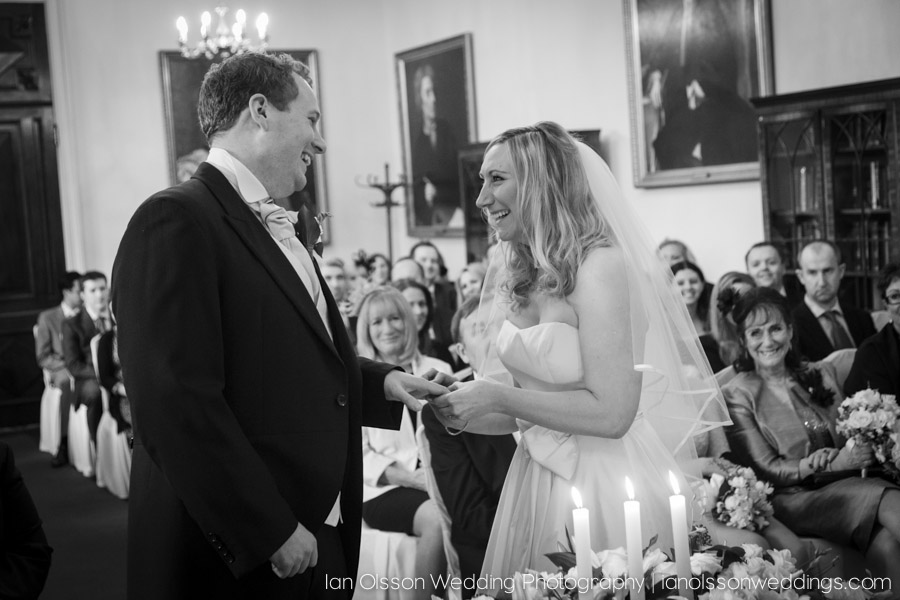 Carrie & Dom's wedding at Down Hall Hotel in Hertfordshire