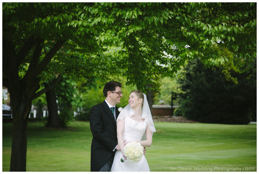 Nick & Anne-Cecile's wedding in the beautiful grounds of Dulwich College