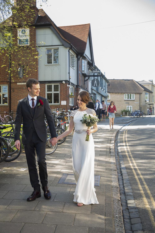 Architect Cambridge Wedding Reception