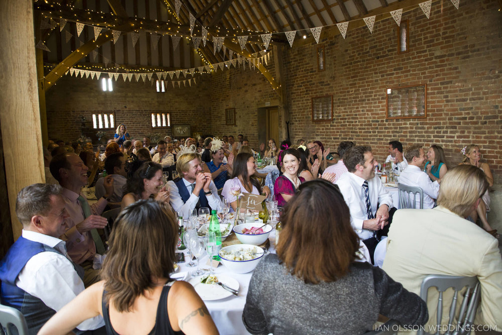 Thatch Barn Yelling Wedding Cambridgeshire   Photo: https://www.