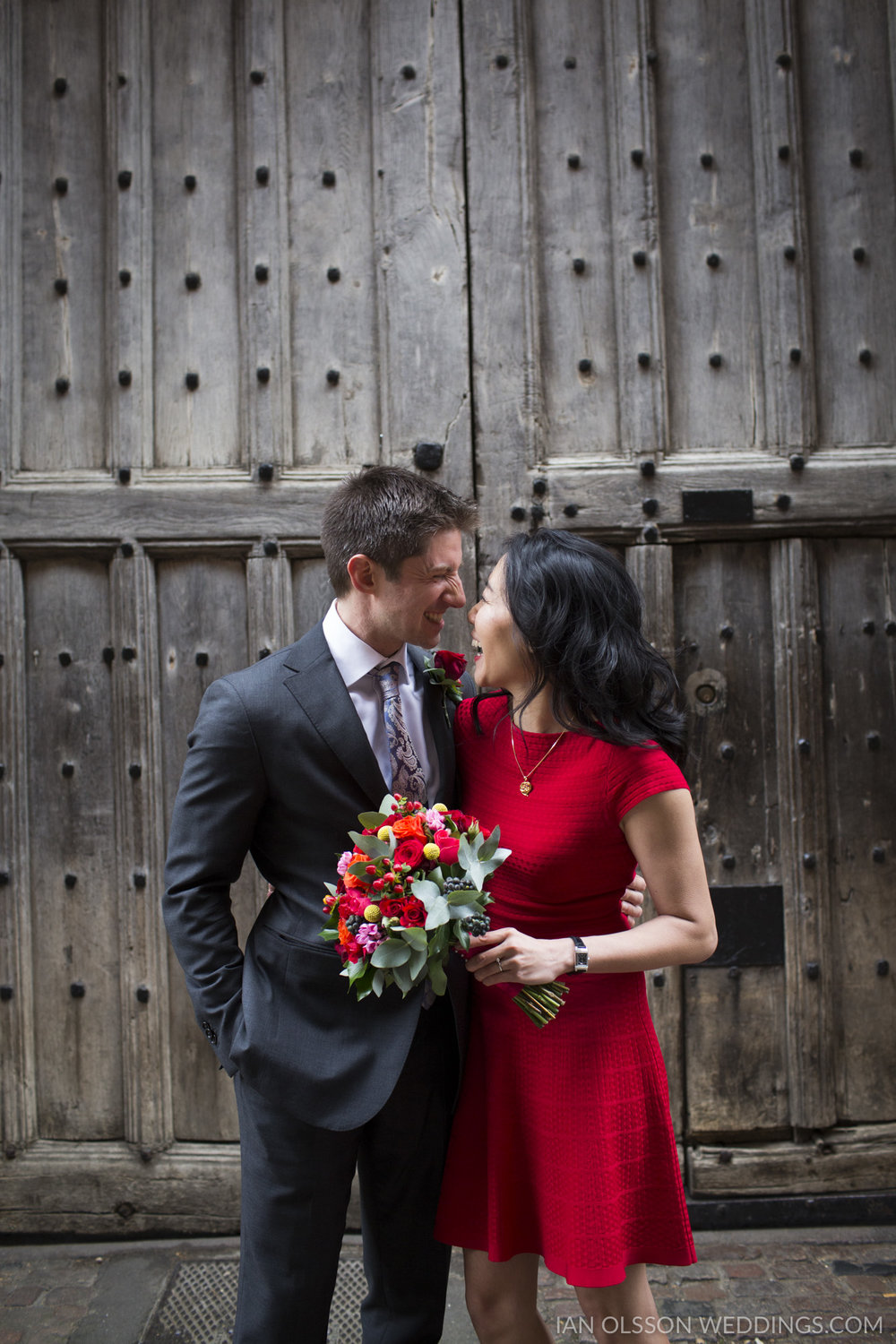 Wedding Portraits in Cambridge | Carol & Henry