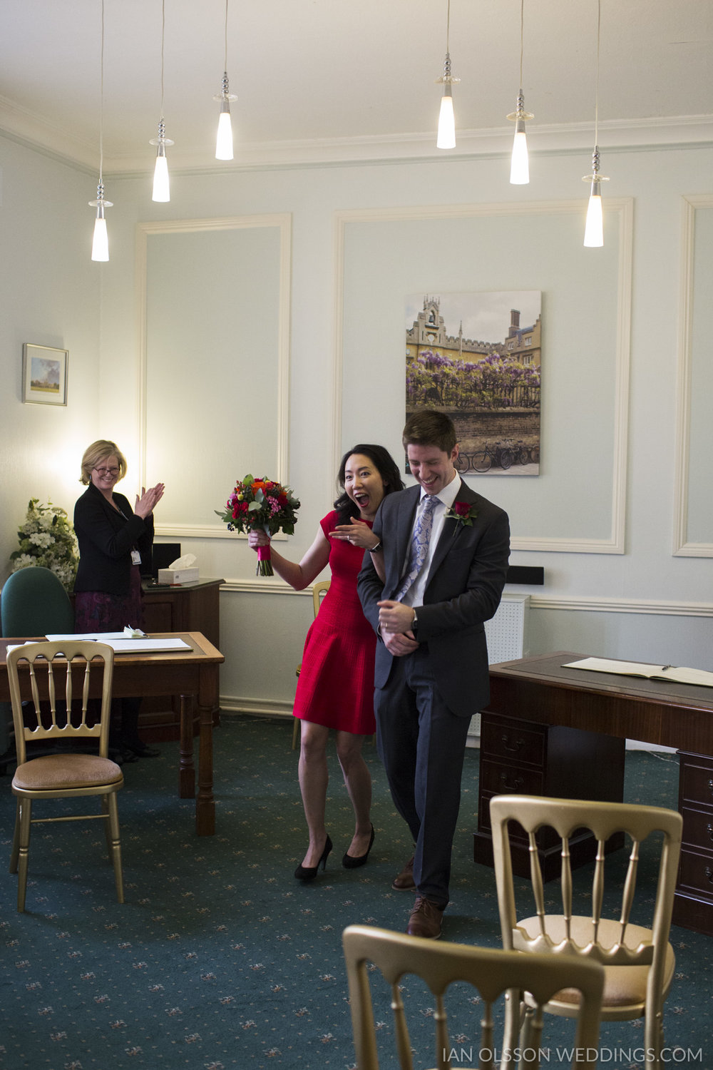 Cambridge Registry Office Wedding | Carol & Henry