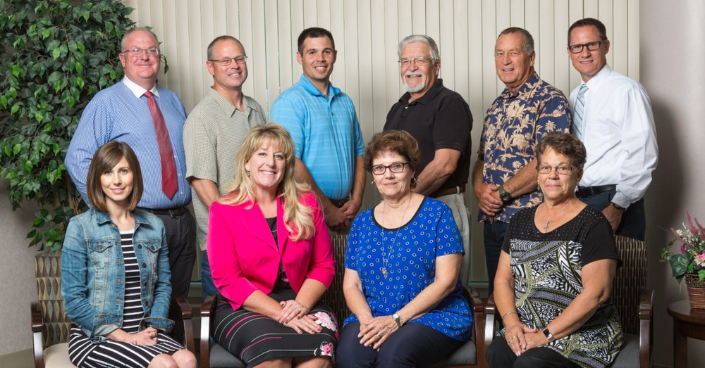 Churchill County Hospital Foundation committee created in 2017. Current members are: (front row) Ashley Frey, Amiee Fulk, Dona Eveatt, Sue Caitlin, (back row) Alan Kalt, Dennis Mills, Brad Stokes, BJ Selinder, Gary Imelli and Robert Carnahan. Not pictured: Dr. Amanda Casey.