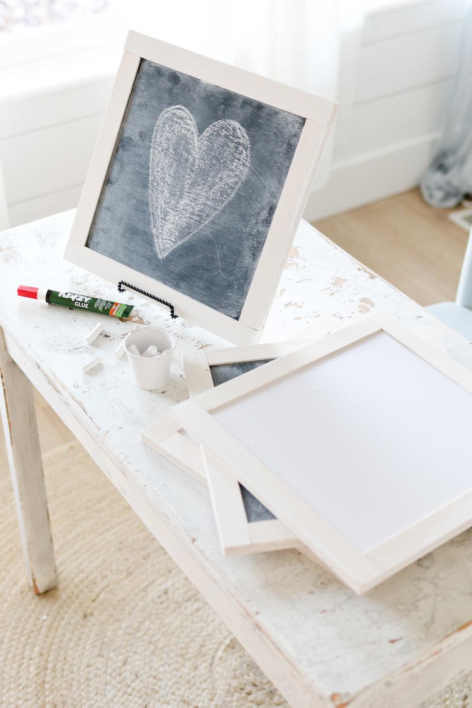 DIY Chalkboard Slate