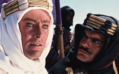 In honour of Omar Sharif. Lawrence of Arabia (1962), Doctor Zhivago (1965), Funny Girl (1968), Hidalgo (2004).