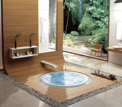 Create A Zen Inspired Bathroom Spazio La