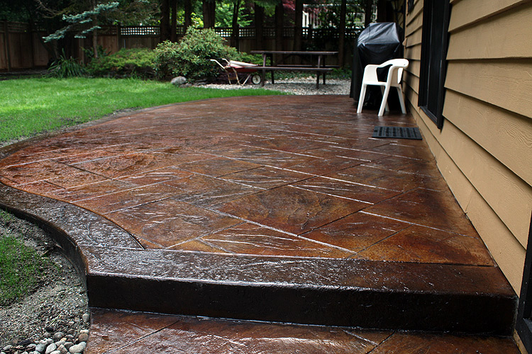 ... Stamped Concrete Patio 41