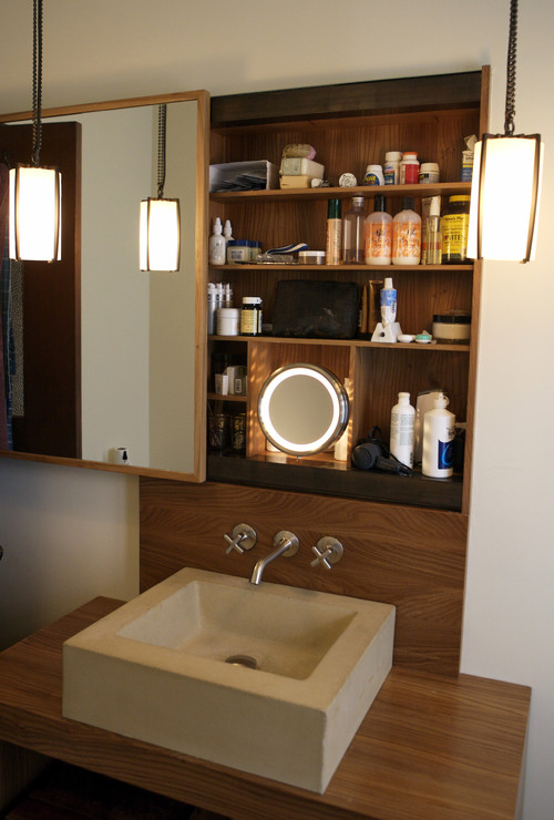 Home Design Fails Part - 48: Sliding-bathroom-mirrored-storage-ideas