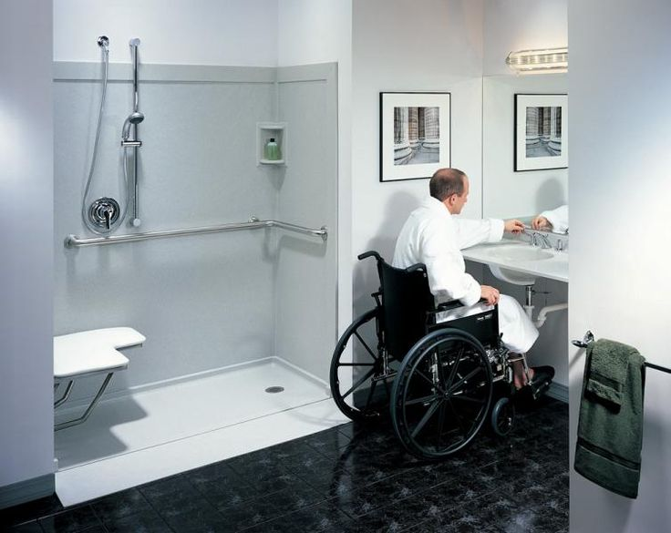 Handicap Bathroom And Shower