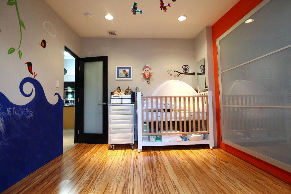 modern room for kids