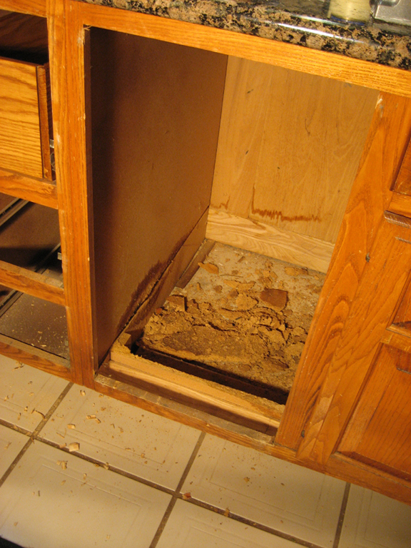 Water Damage Cabinets Nf71 Roccommunity