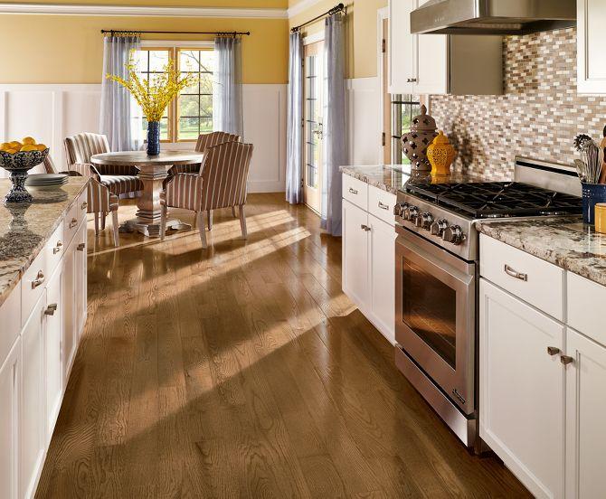 Hardwood floor remodel