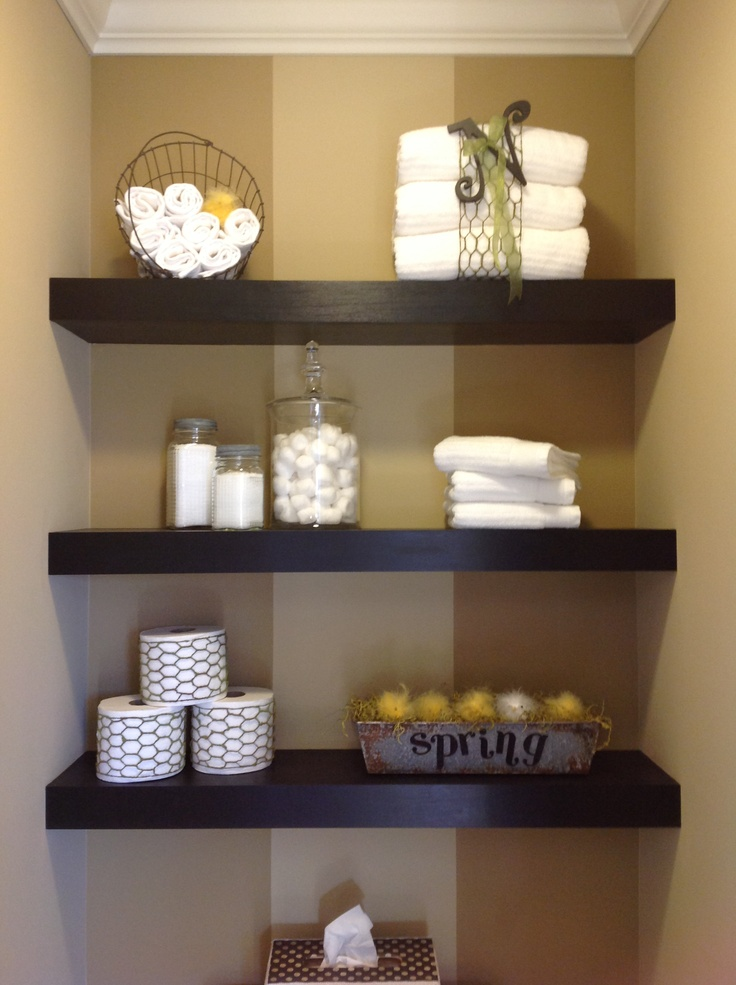 Easy DIY Floating Shelves On A Budget Shelves2