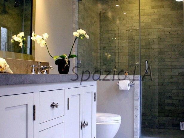 Spazio bathroom remodel