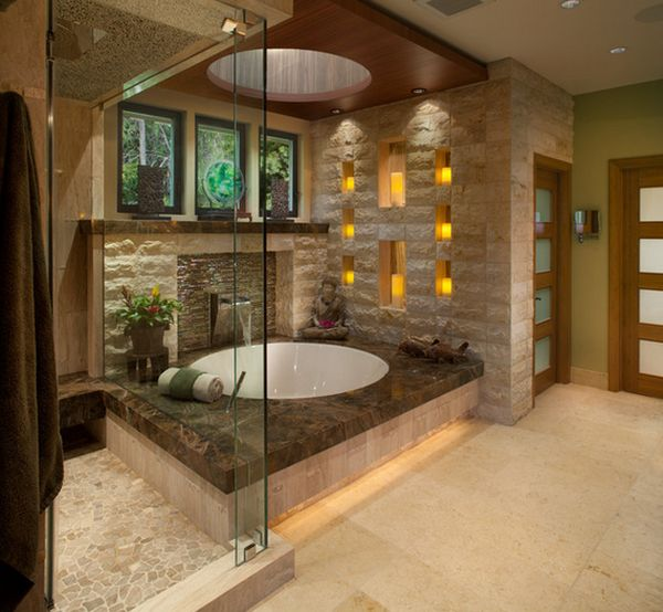 bathroom remodel, spa bathroom