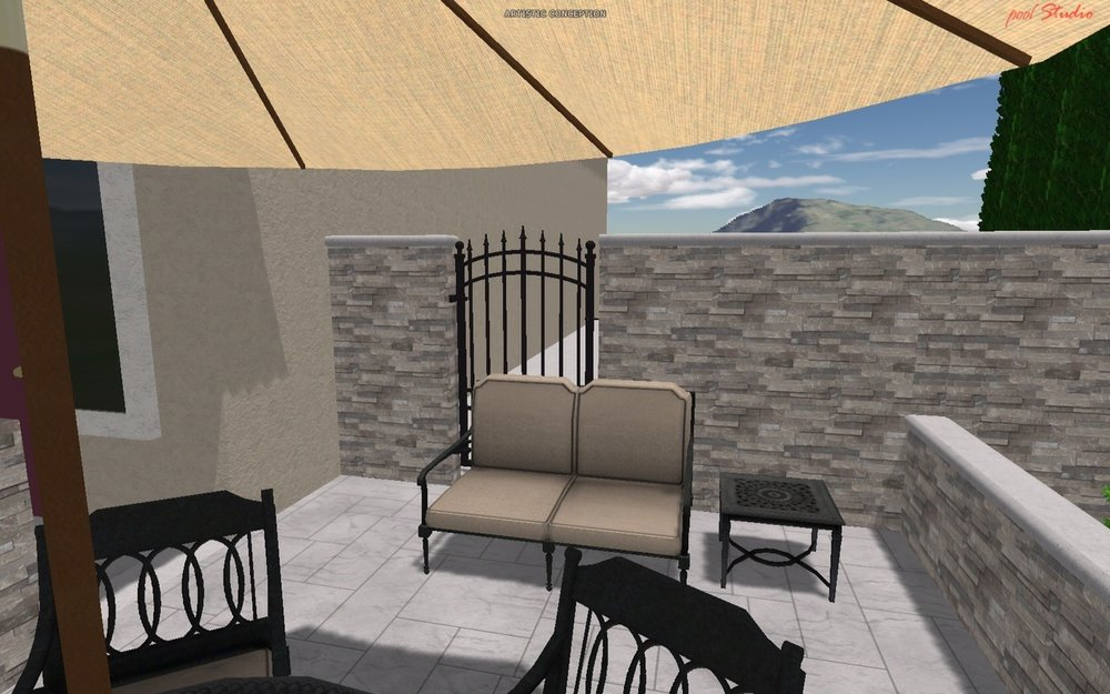 patio mock up