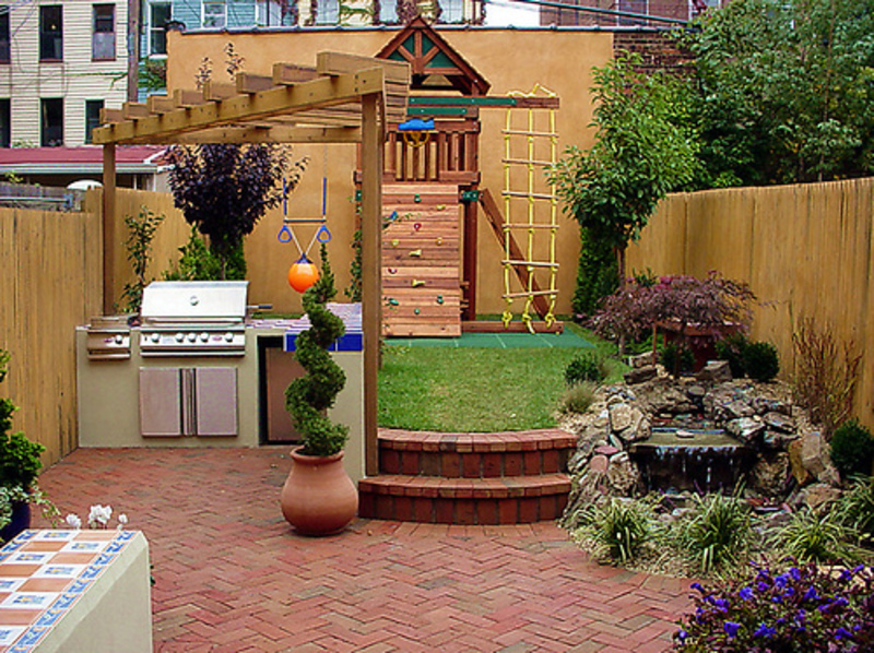 small backyard ideas, backyard