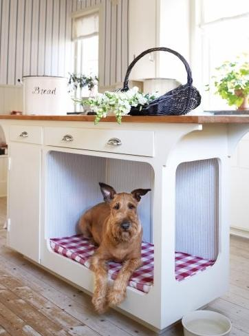 Built In Dog Bed Kitchen Island Custom