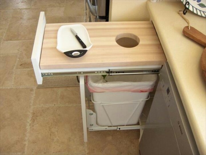 drawer cutting board