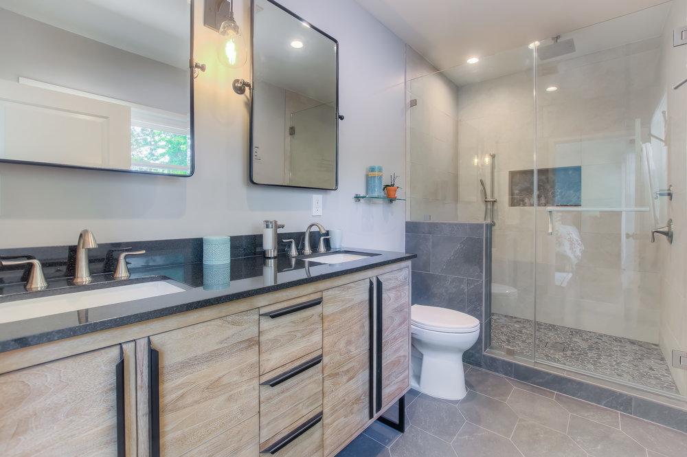 Glendale bathroom remodel