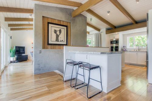 WOODLAND HILLS KITCHEN AND LIVING ROOM REMODEL | SPAZIO LA