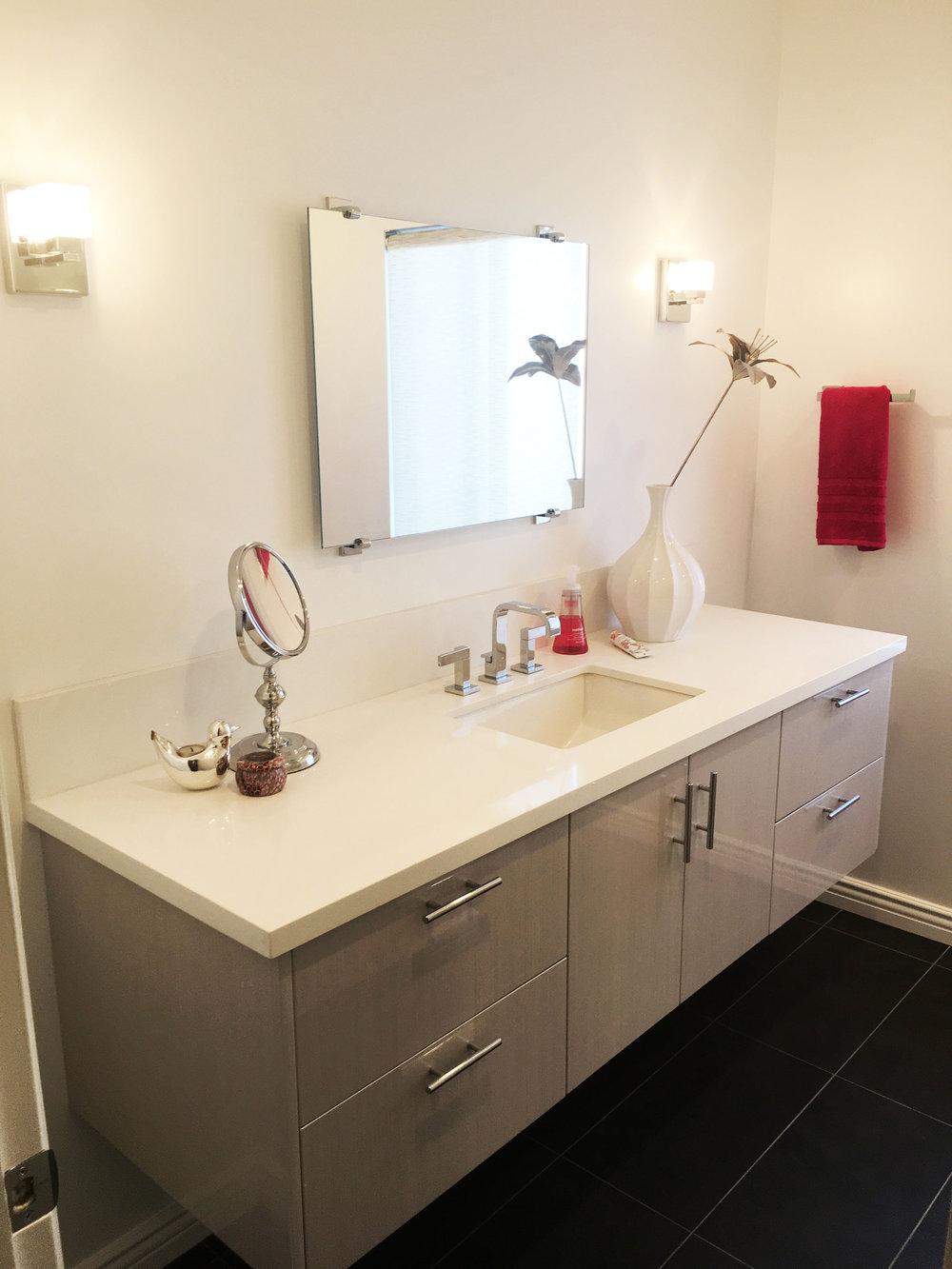 Pasadena condo bathroom remodel