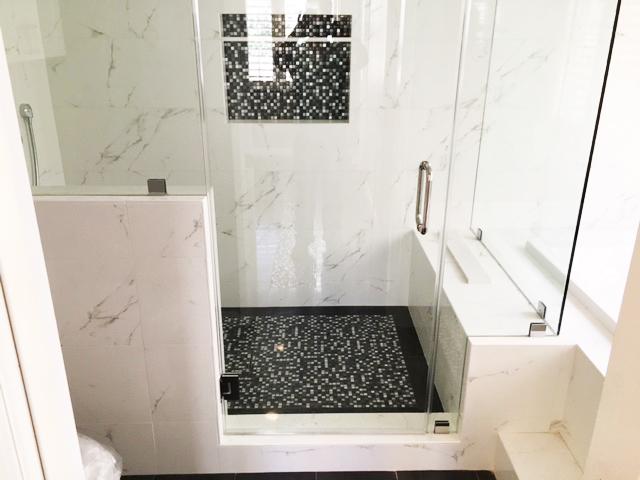 La Canada master bathroom remodel