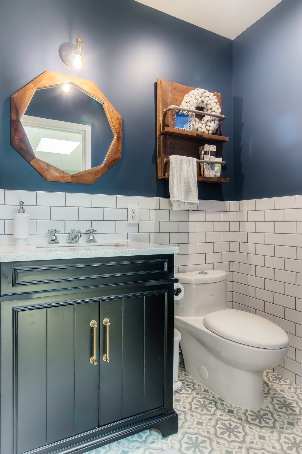 Altadena cottage bathroom remodel