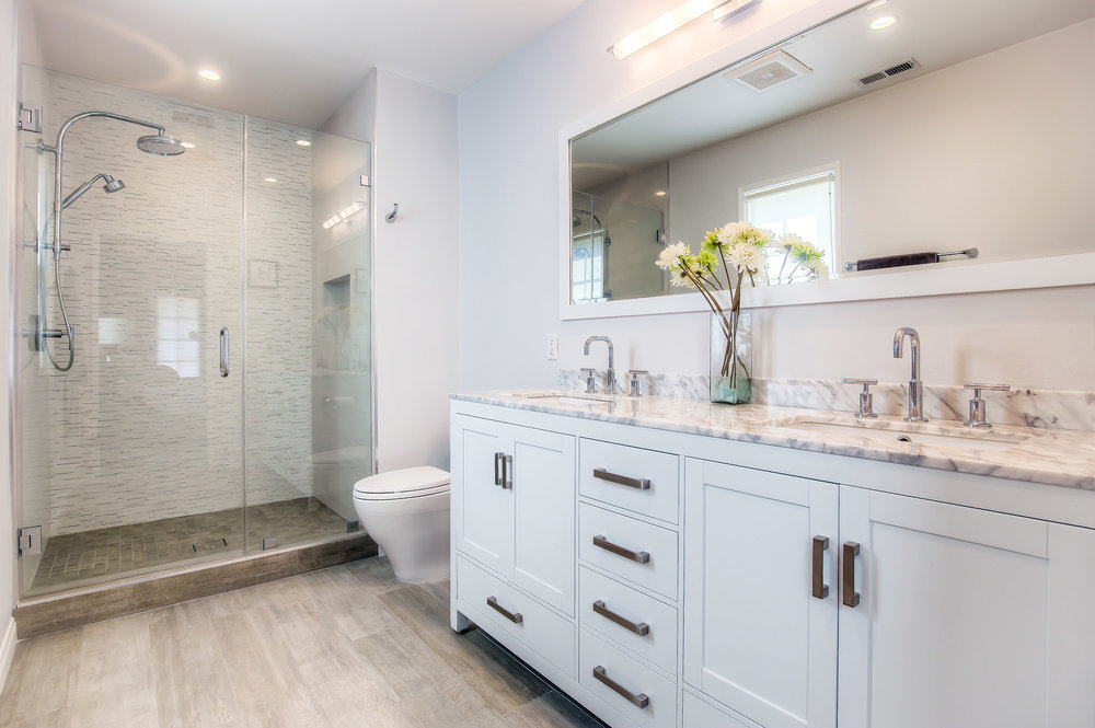 Culver city master bathroom remodel