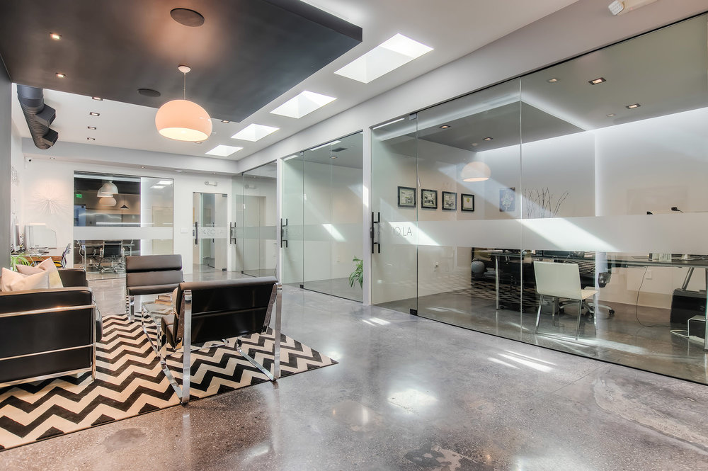 Spazio LA new office complete remodel side