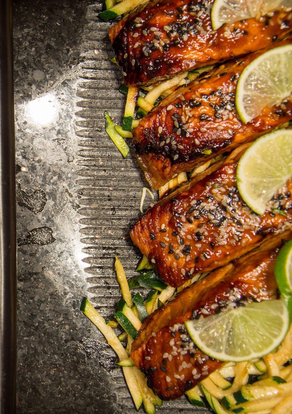 Broiled Wild Pacific Salmon Recipe West Edge Fishing
