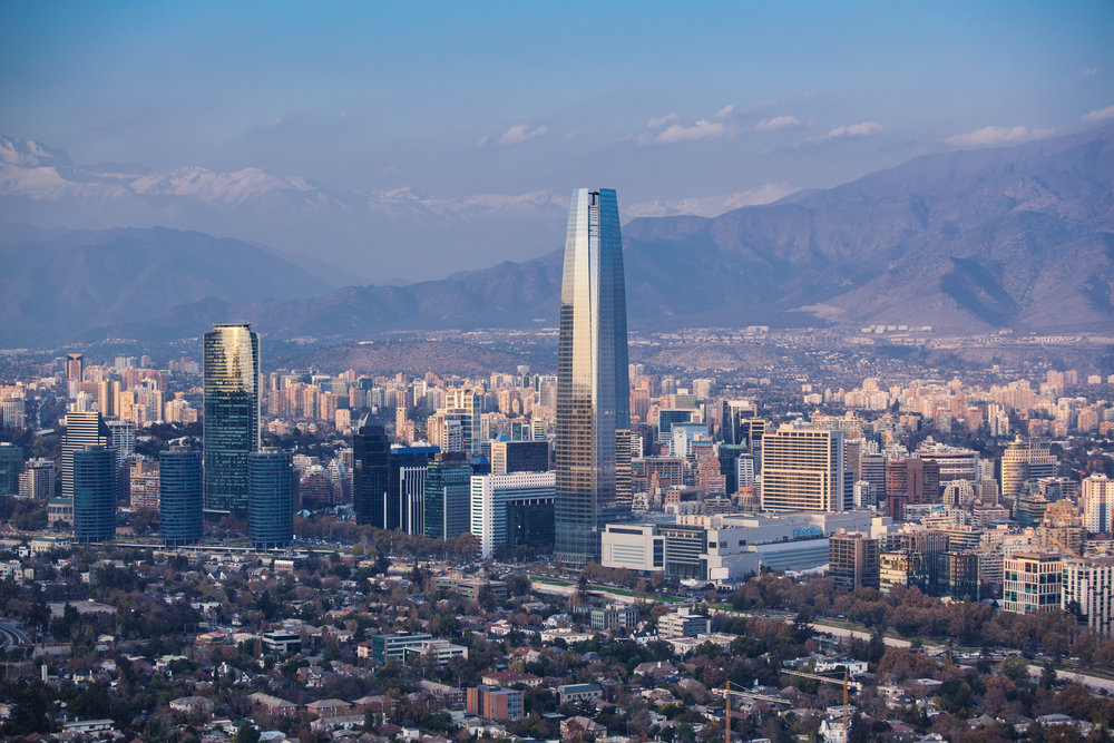Chile's capital sits surrounded by the snow-capped Andes & offers incredible views from wherever you look. A must-stop destination offering the best of any lively metropolis... with incredible outdoor adventures just around the corner. -