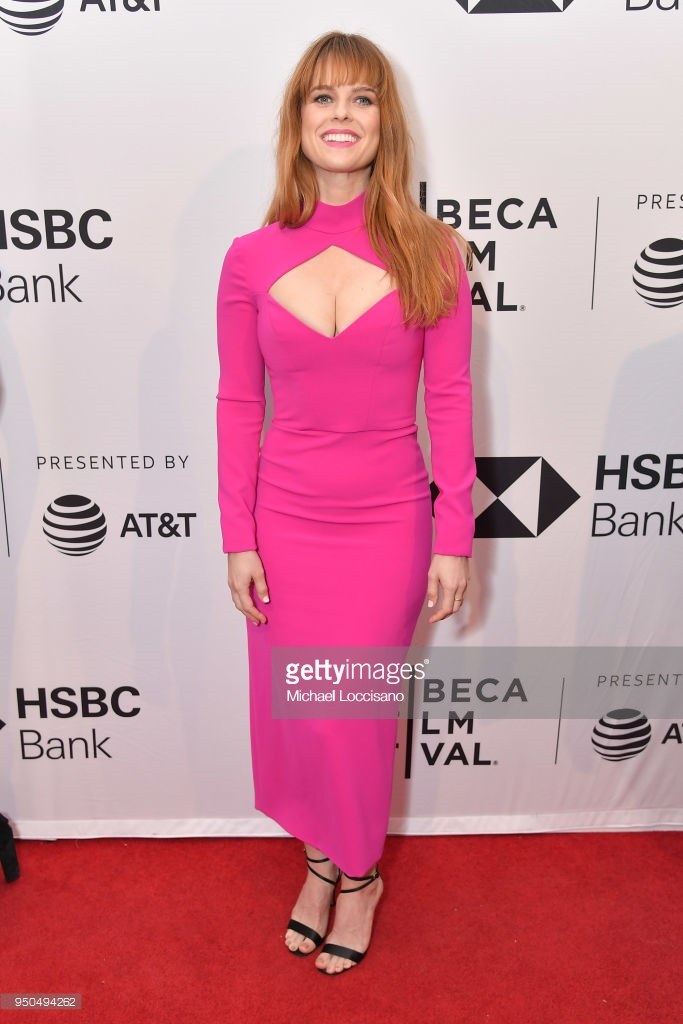 NEW YORK, NY - APRIL 23: Alice Eve attends the screening of 'Untogether' during the 2018 Tribeca Film Festival at SVA Theatre on April 23, 2018 in New York City. (Photo by  Michael Loccisano/Getty Images  for Tribeca Film Festival)