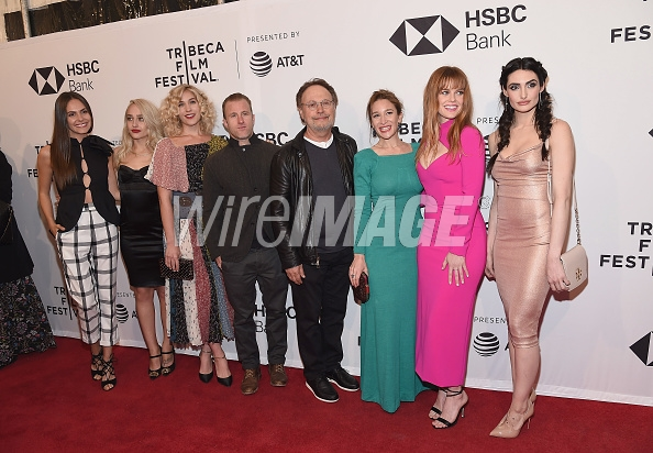 NEW YORK, NY - APRIL 23: (L-R) Cast members Elena Ghenoui, Jemima Kirke, Lola Kirke, Scott Caan, Billy Crystal, writer/director Emma Forrest, actors Alice Eve and Chloe Catherine Kim attend the screening of 'Untogether' during the 2018 Tribeca Film Festival at SVA Theater on April 23, 2018 in New York City. (Photo by  Gary Gershoff/WireImage )